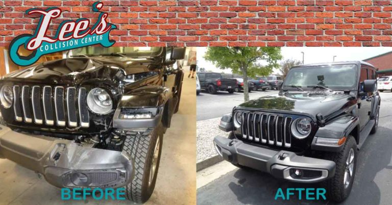 Before and after 2018 Jeep Wrangler Sahara.