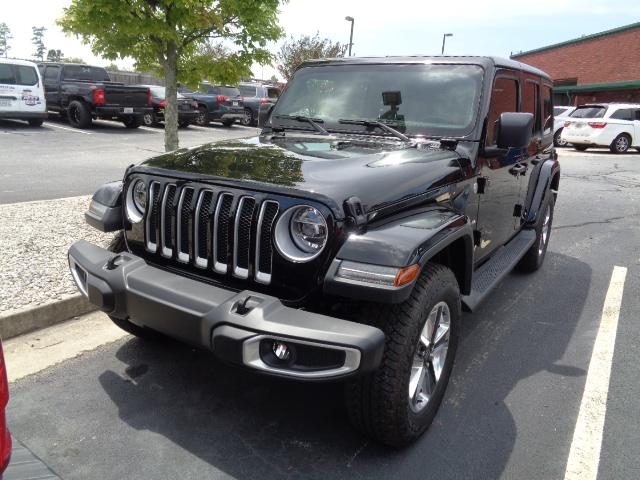 2018 Jeep Wrangler Sahara after repair and restoration