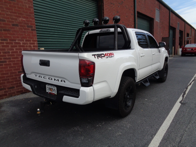 2017 Toyota Tacoma restored